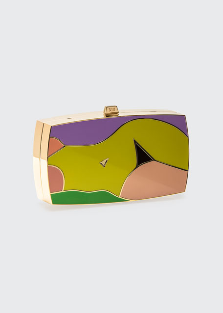 The Surrender Minaudiere Clutch Bag
