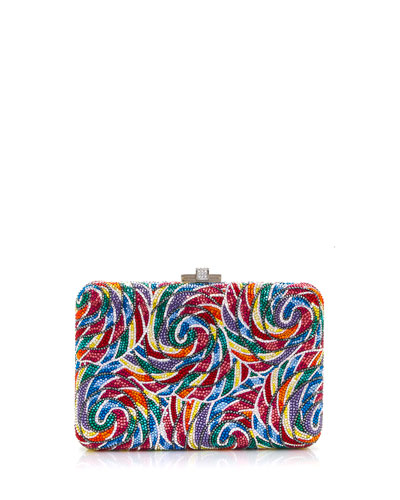 0ef232e24502 Whirly Pop Slim Clutch Bag Quick Look. Judith Leiber Couture