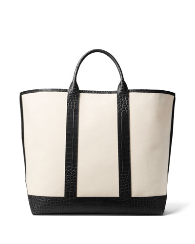 Georgica Canvas Tote Bag