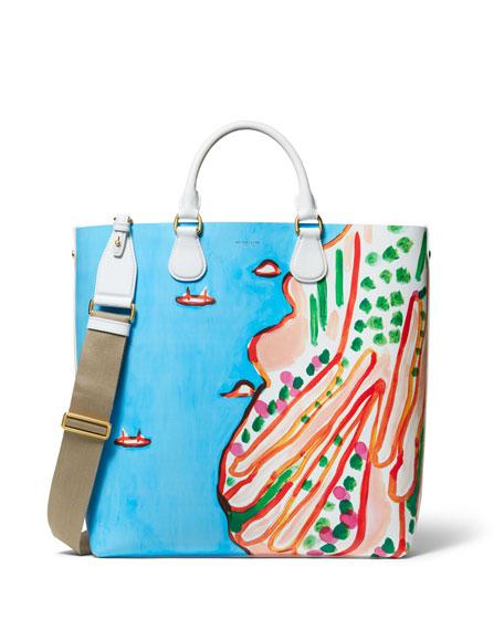 748da1de4735 Michael Kors Collection Dandridge Christina Zimpel Tote Bag