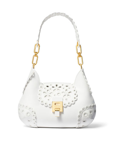 Bancroft Embroidered Shoulder Bag