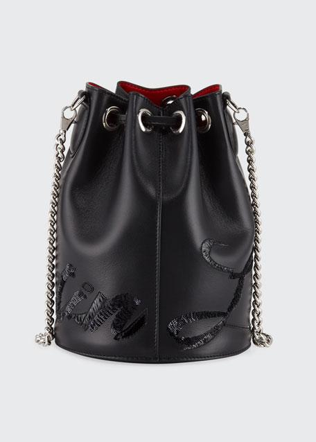 Marie Jane Leather Bucket Bag