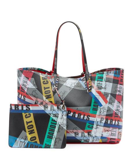 Cabata Calf LoubiBallage Tote Bag