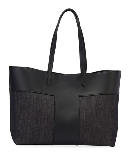 Medium Denim Tote Bag