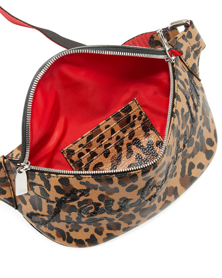 Marie Jane Leopard Belt Bag