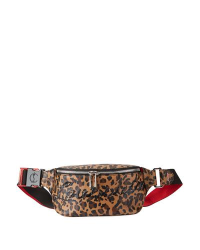 Marie Jane Leopard Belt Bag