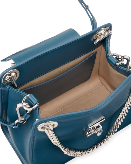 Annie Mini Shiny Shoulder Bag