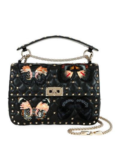 47194323b7 Spike.It Medium Butterfly Shoulder Bag Quick Look. Valentino Garavani