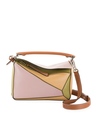 b63132499462 x Paula s Ibiza Puzzle Small Classic Satchel Bag