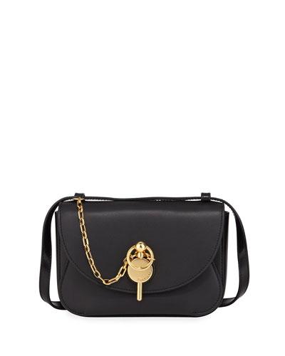 Mini Keyts Leather Crossbody Bag