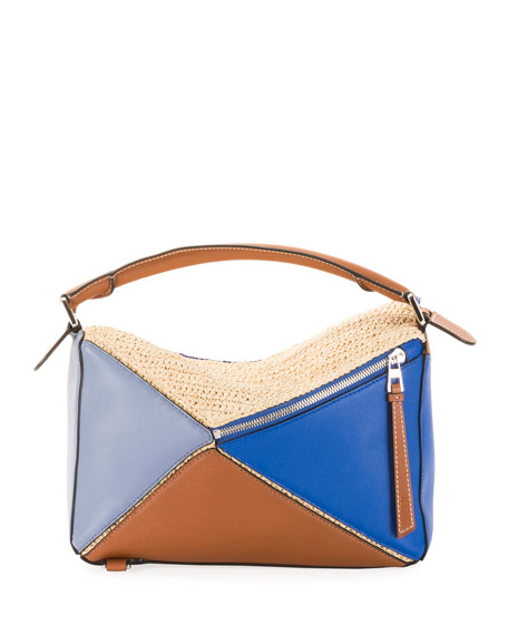 x Paula's Ibiza Puzzle Satchel Bag
