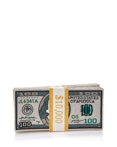 Stack of Cash Rich Clutch Bag