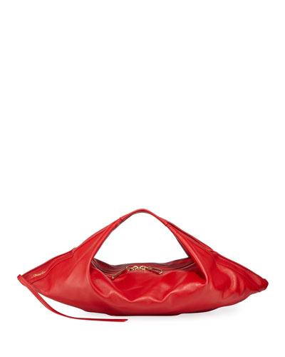 Luna Leather Slouchy Hobo Bag