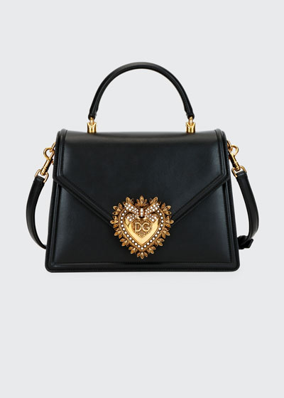 Devotion Leather Shoulder Bag