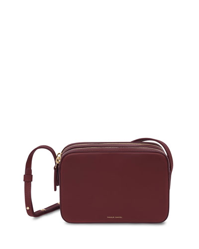 Vegetable-Tanned Zip Crossbody Bag