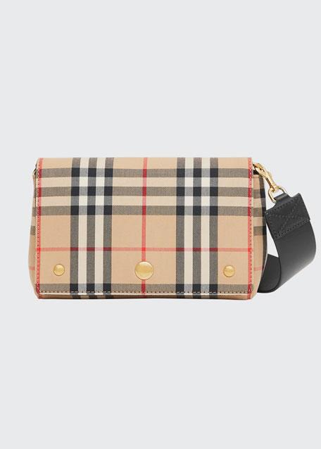 Hackberry Vintage Check Belt Bag
