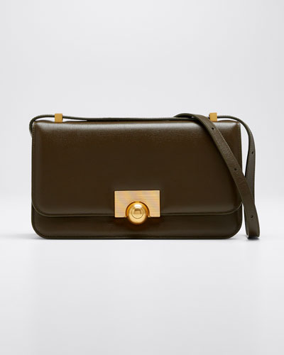 Ronde Leather Shoulder Bag