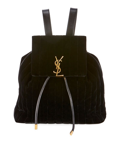 Vicky Quilted Drawstring Backpack