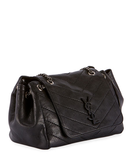 6672ccea44 Saint Laurent Nolita Stitched Shoulder Bag