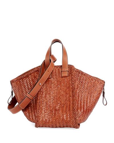 Hammock Woven Medium Shoulder Bag