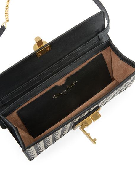 New Alibi Two-Tone Clutch Bag