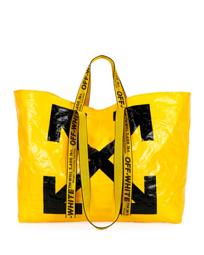 New Commercial Tote Bag  Yellow/Black