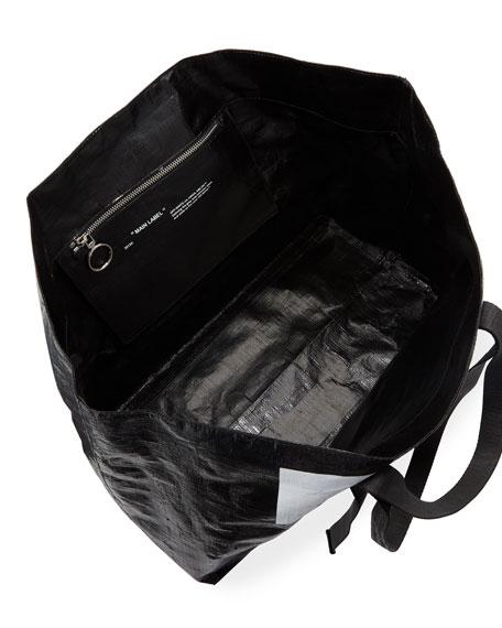 New Commercial Tote Bag, Black/White