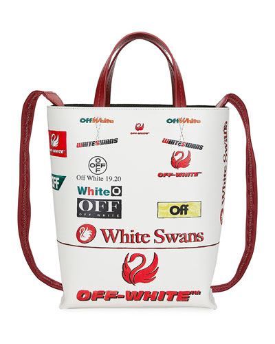 Multi-Logo Tote Bag