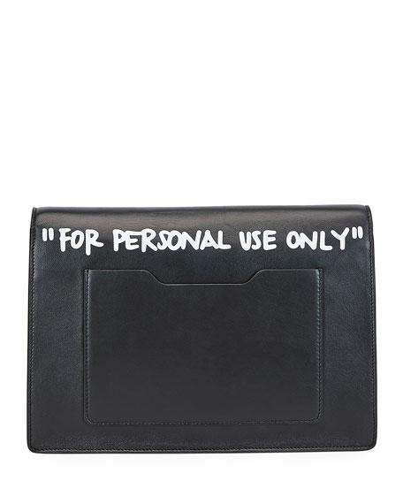 Jitney Cash Inside Top Handle Bag, Black/White