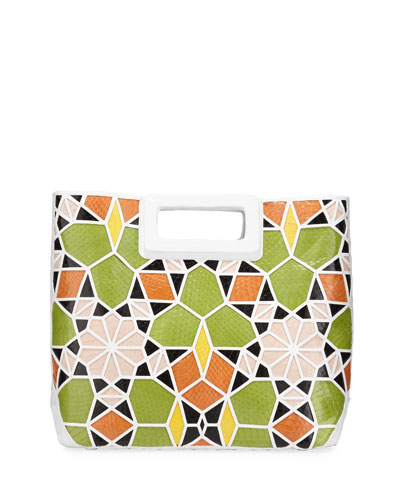 Dani Crocodile Patchwork Tote Bag