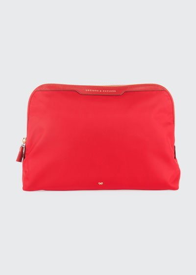 Lotions & Potions Cosmetics Bag  Red