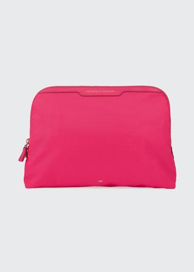 d10b81e4a Lotions & Potions Cosmetics Bag Hot Pink Quick Look. Anya Hindmarch