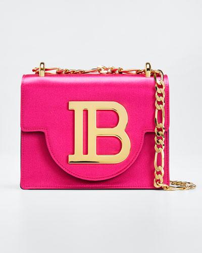 f28624c2c41 Satin Flap Shoulder Box Bag Quick Look. Balmain