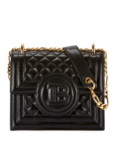 9f4bd75a2ab Quilted Leather Wallet On Chain Bag Quick Look. Balmain