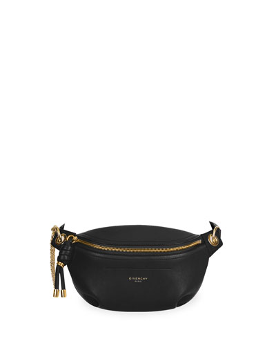 Whip Mini Smooth Belt Bag  Black