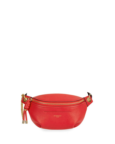 Whip Mini Smooth Belt Bag  Red