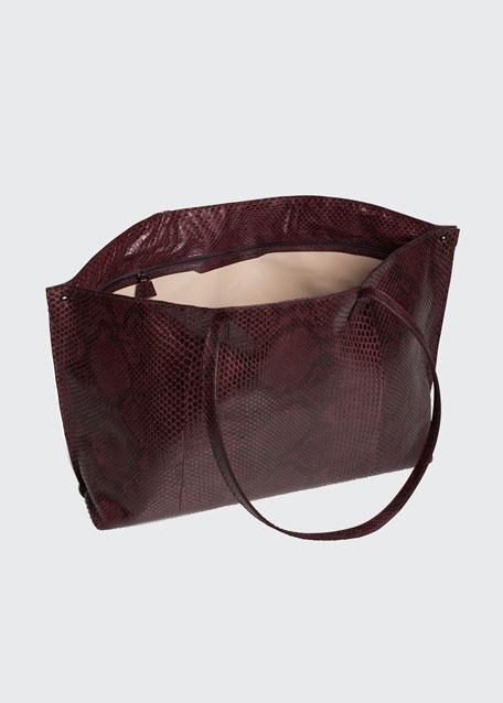 AI Medium Soft Python Tote Bag