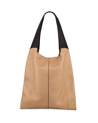 Grand Two-Tone Shopper Tote Bag