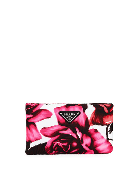 Small Tessuto Soft Roses Clutch