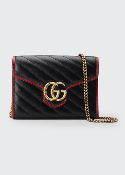 316e53c07e67f1 GG Marmont Torchon Wallet On Chain Quick Look. Gucci