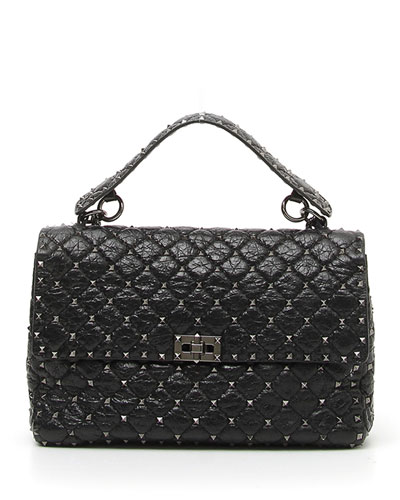 f398640c98 Rockstud Spike Large Lamb Leather Shoulder Bag Quick Look. Valentino  Garavani