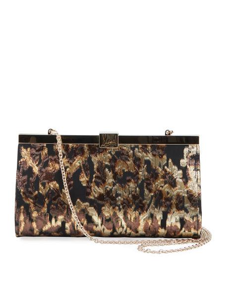 20399daf50d Palmette Small Lurex Tresor Clutch Bag