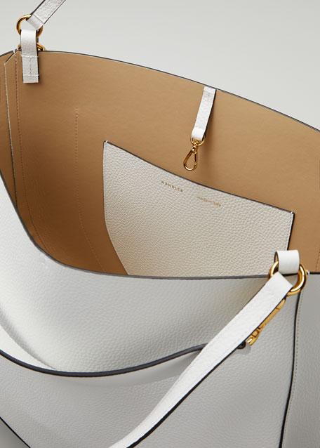 Mia Calf Leather Tote Bag