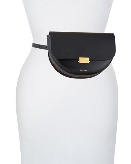 Anna Calf Leather Belt Bag
