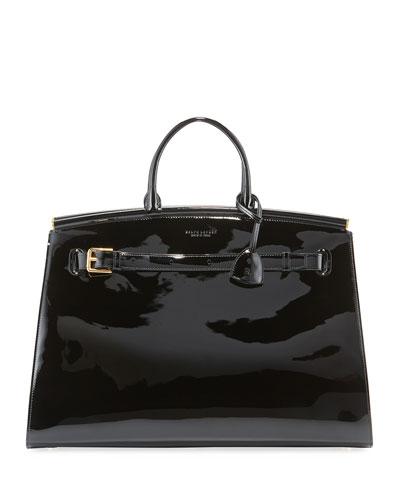 Patent Large Leather RL50 Handbag