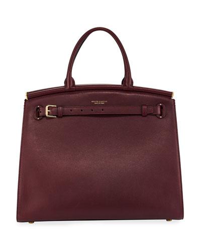 RL50 Large Leather Satchel Bag