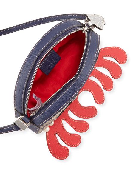 Girls' GG Supreme Octopus Shoulder Bag