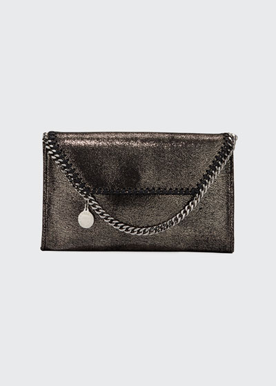 Falabella Mini Shiny Wallet on Chain
