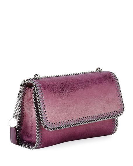 Falabella Metallic Flap-Top Shoulder Bag