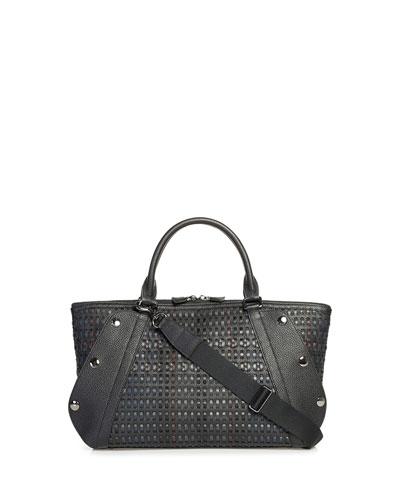 Aimee Small Laser-Cut Satchel Bag